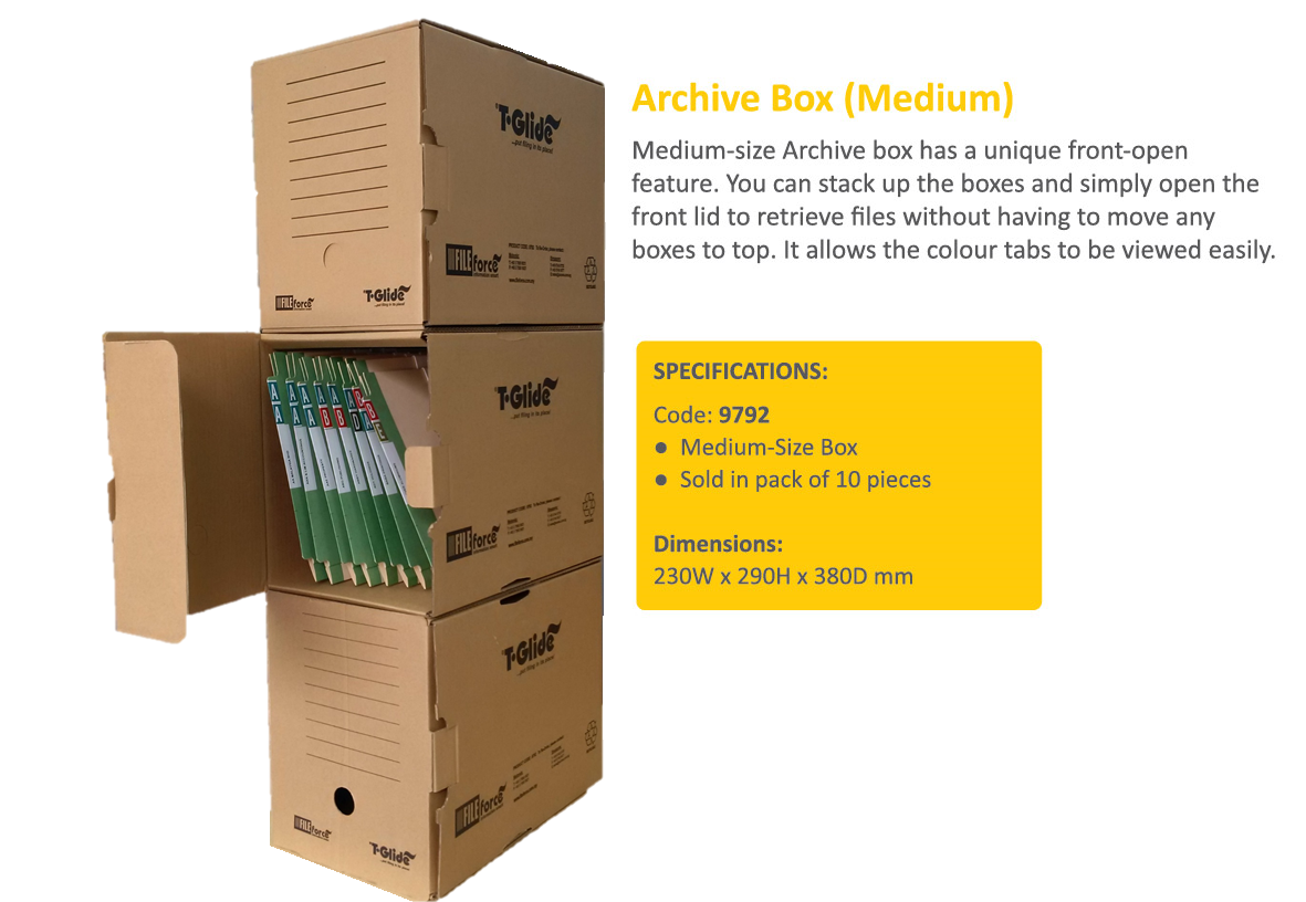 FILEforce Archive Box (Medium) Code 9792