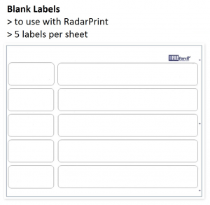 RP blank labels