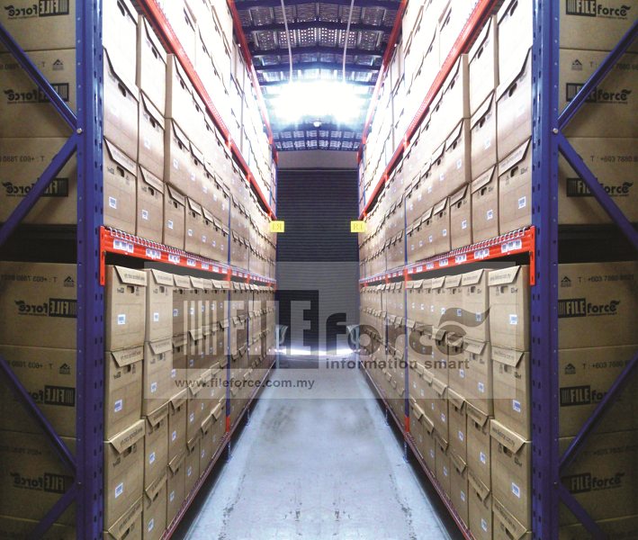 BOX STORAGE WAREHOUSE for your files and documents